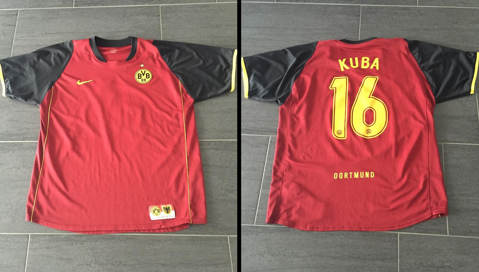 Borussia Dortmund Away 2007/08 Kuba