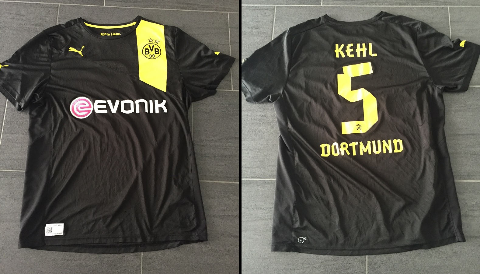 Borussia Dortmund Away 2012/13 Kehl