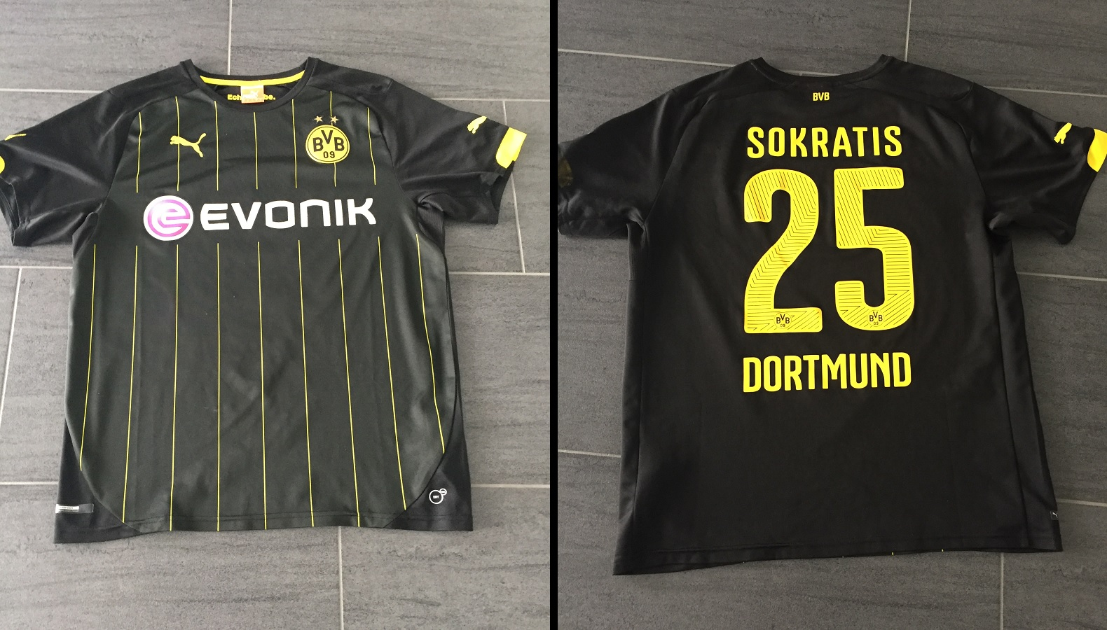 Borussia Dortmund Away 2014/15 Sokratis