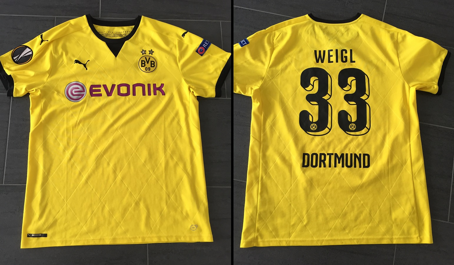 Borussia Dortmund Europa 2015/16 Weigl