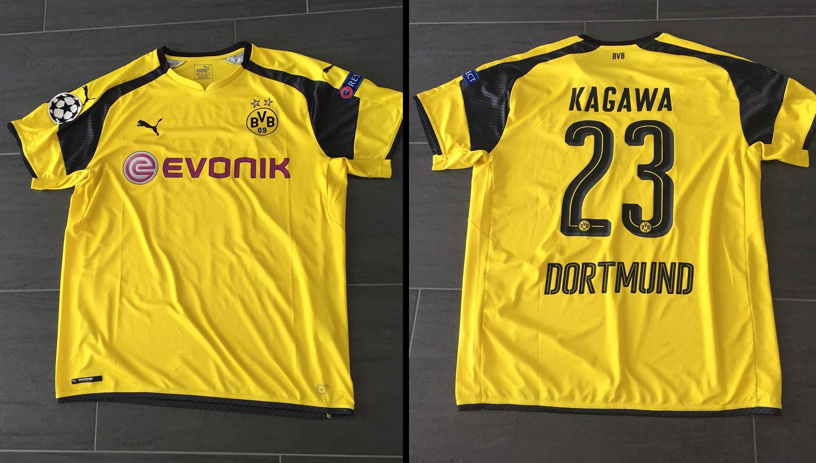 Borussia Dortmund Europa 2016/17 Kagawa