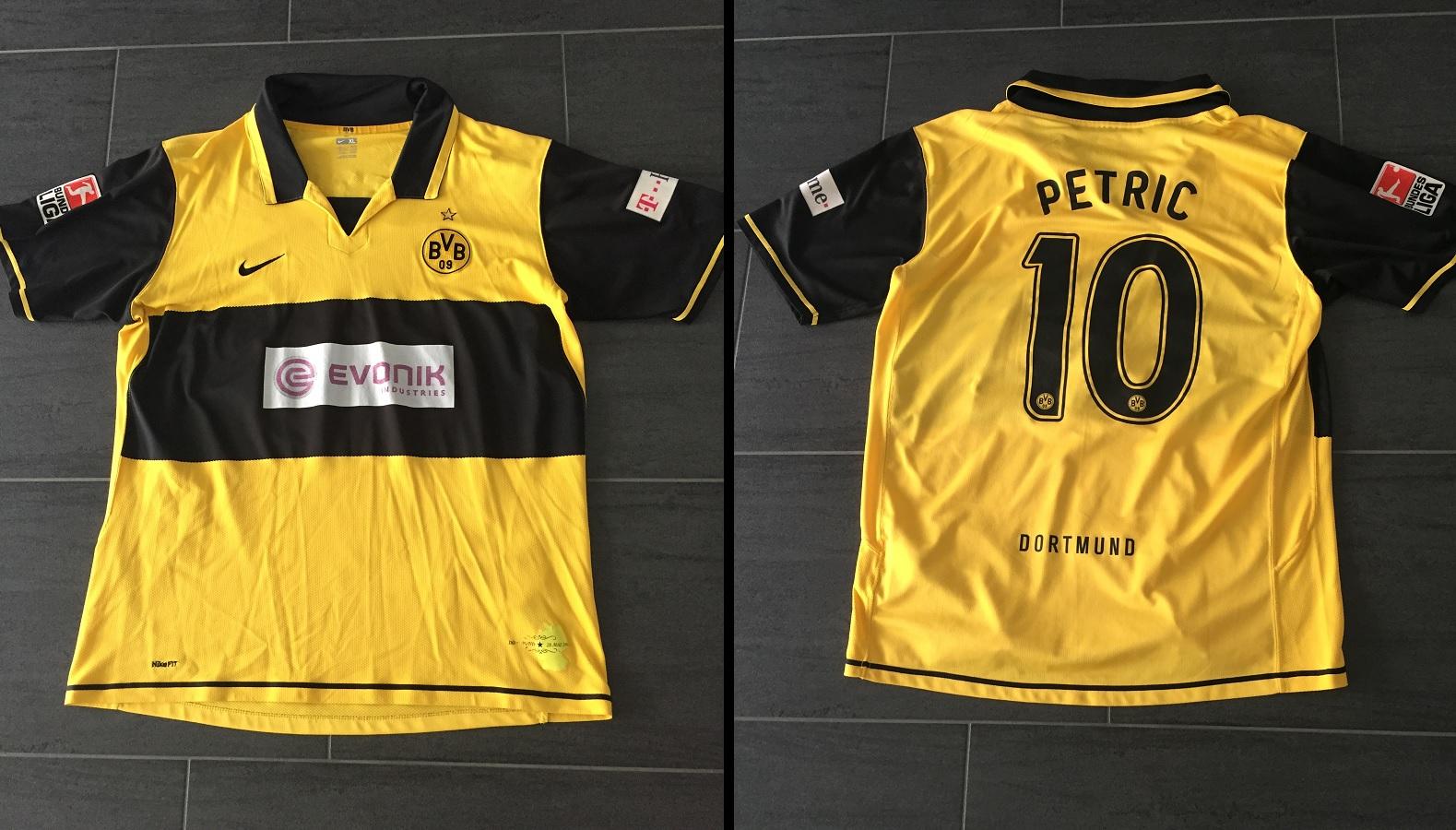 Borussia Dortmund Home 2007/08 Petric