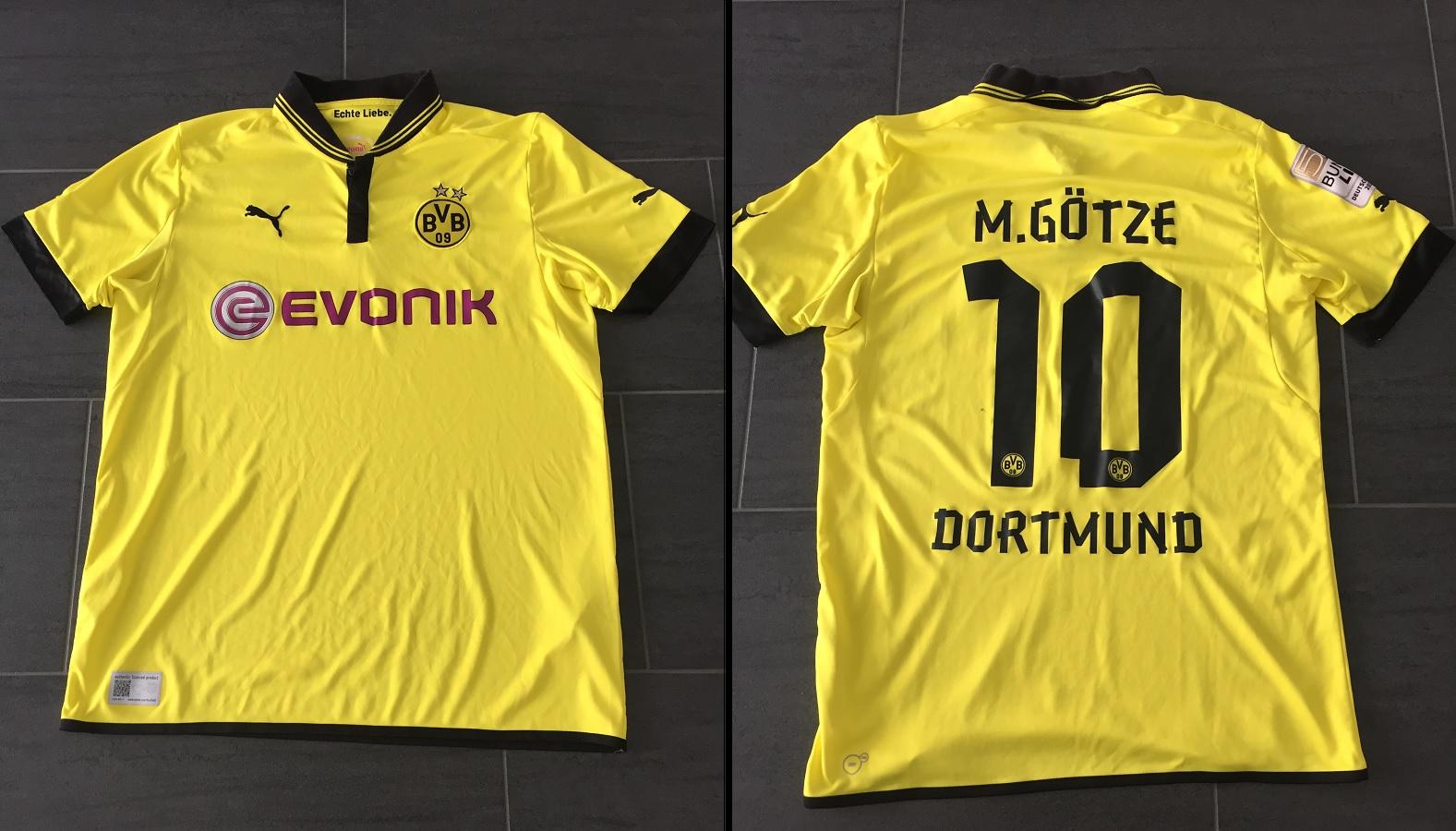 Borussia Dortmund Home 2012/13 Götze