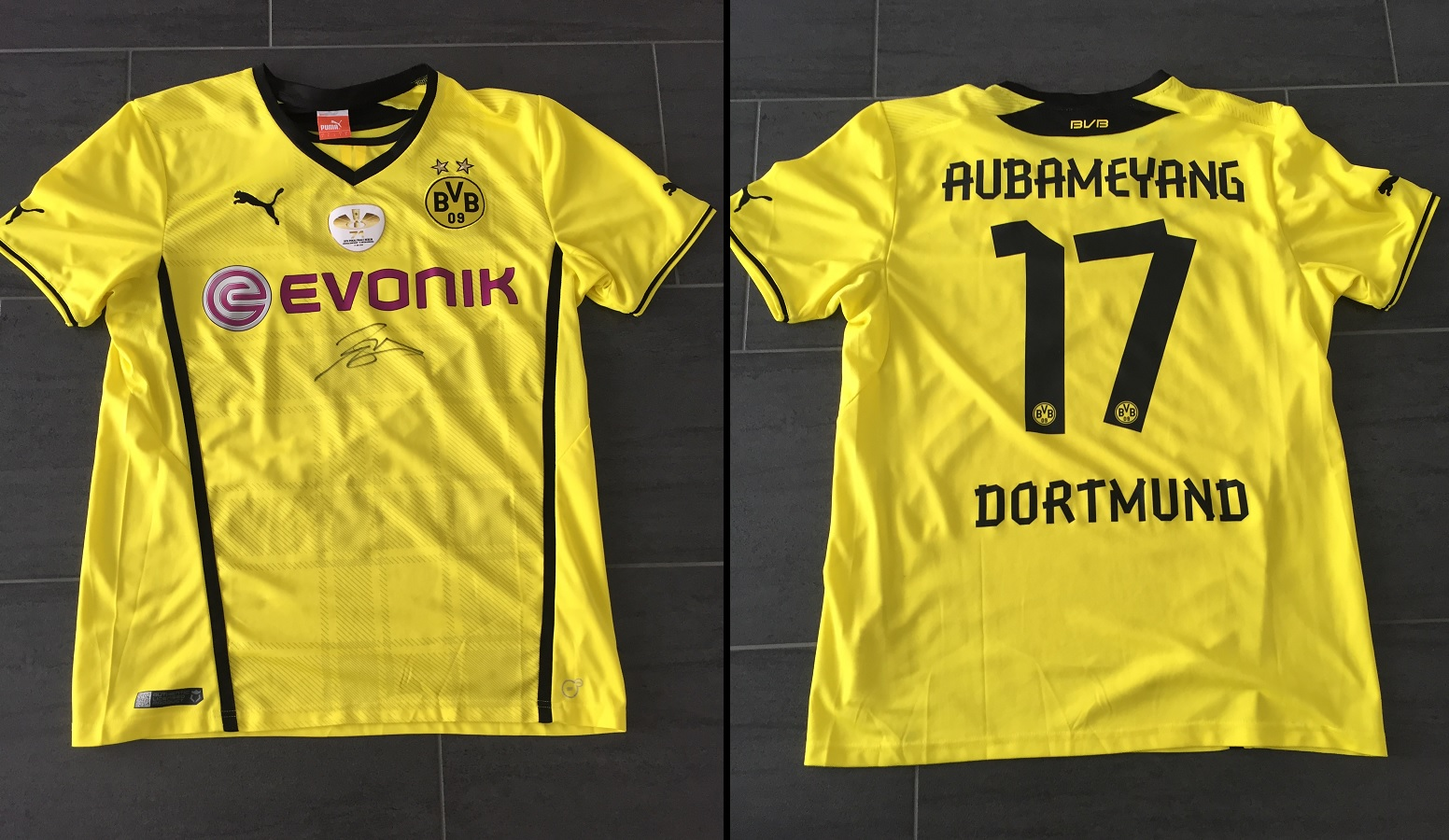 Borussia Dortmund Home 2013/14 Aubameyang