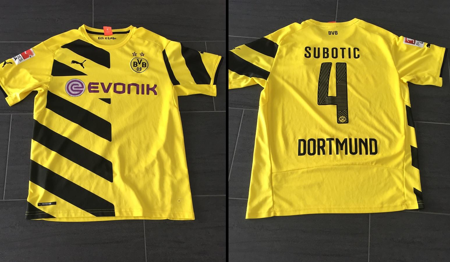 Borussia Dortmund Home 2014/15 Subotic