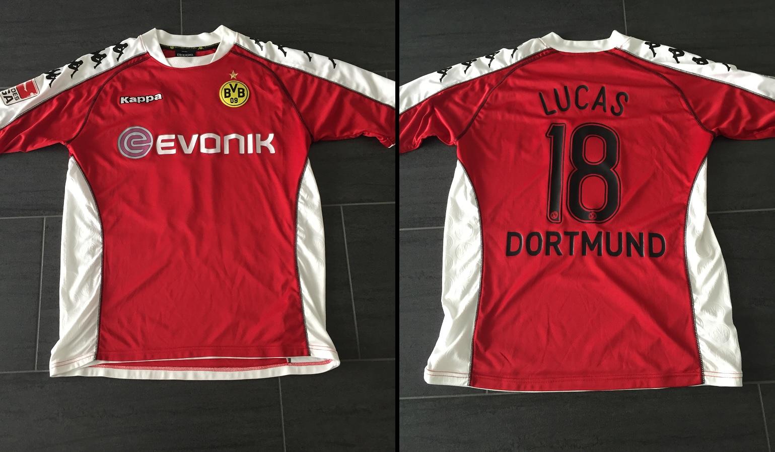 Borussia Dortmund Third 2009/10 Lucas