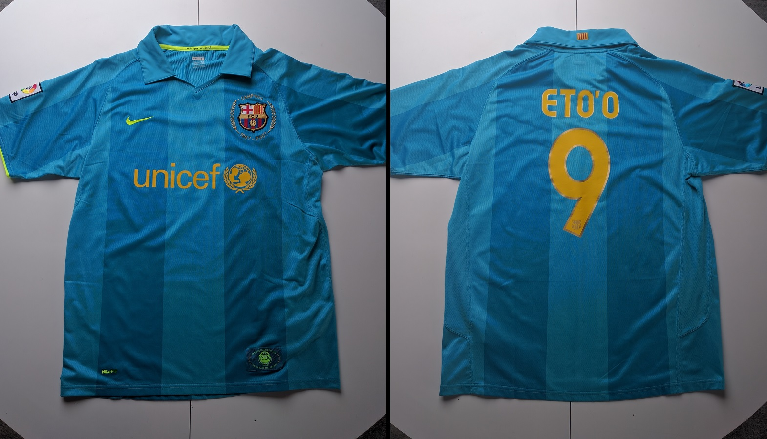 FC Barcelona Away 2007/08 Eto'o