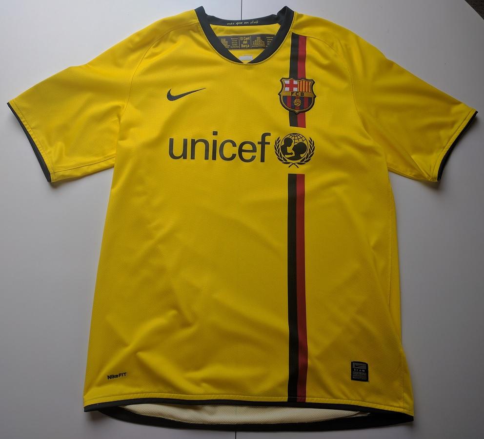 FC Barcelona Away 2008/09
