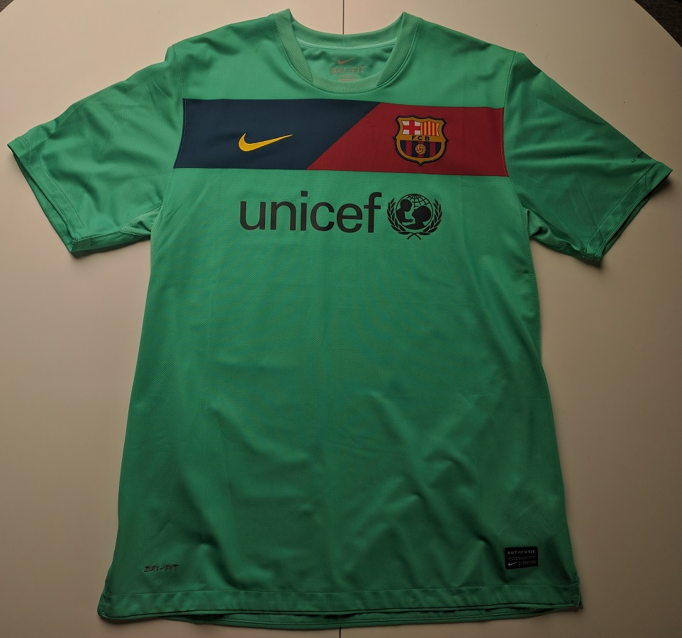 FC Barcelona Away 2010/11