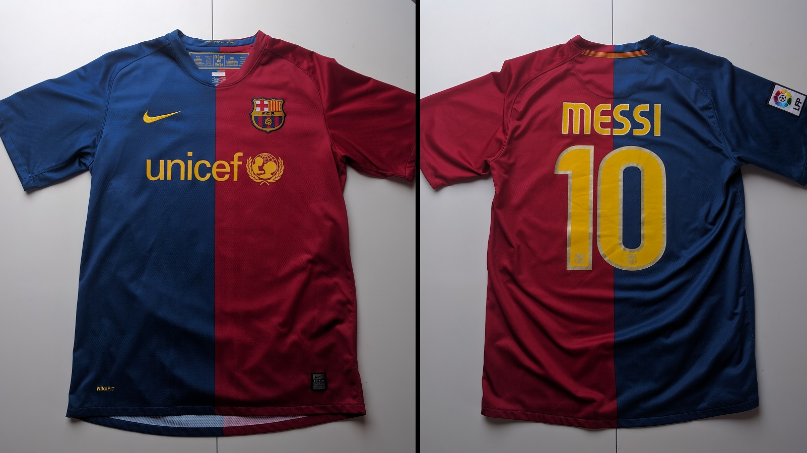 FC Barcelona Home 2008/09 Messi