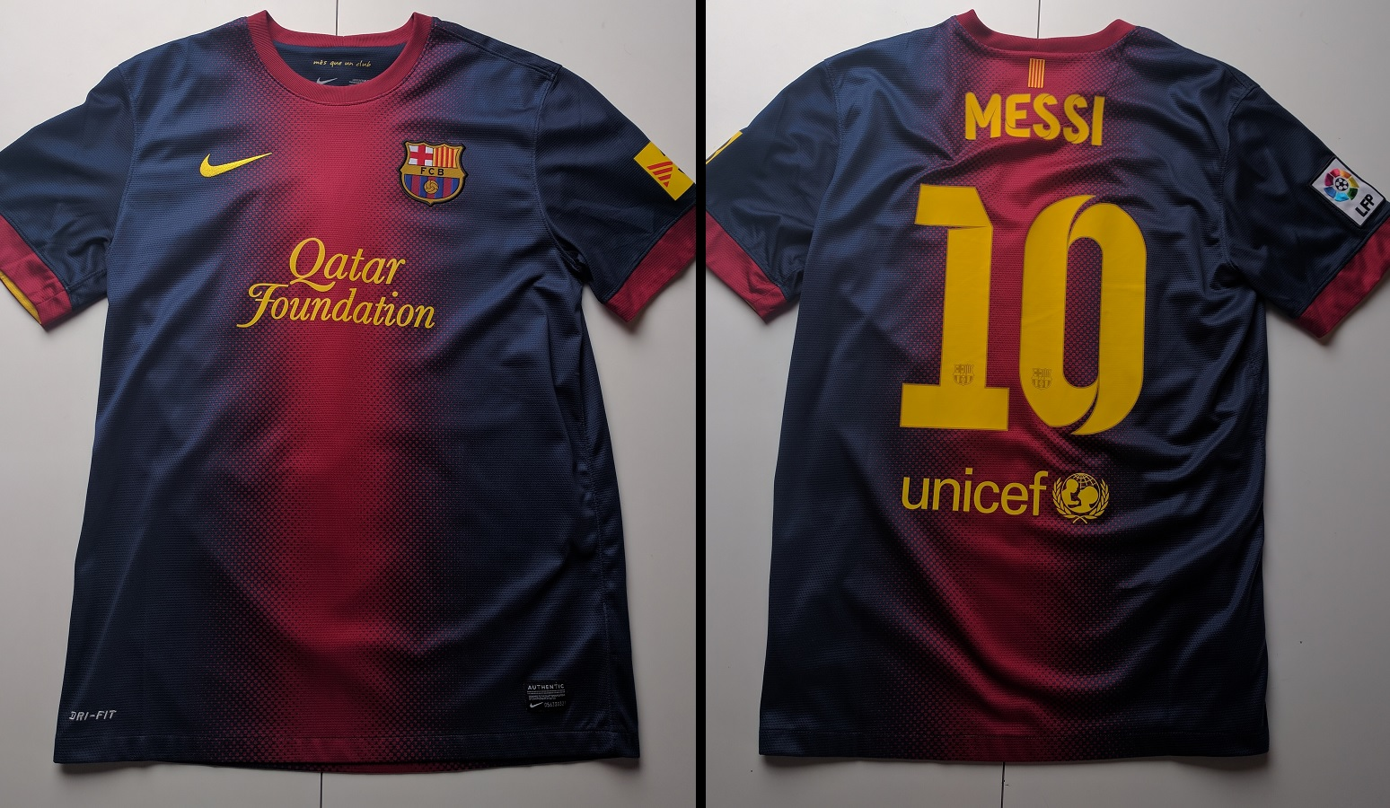 FC Barcelona Home 2012/13 Messi