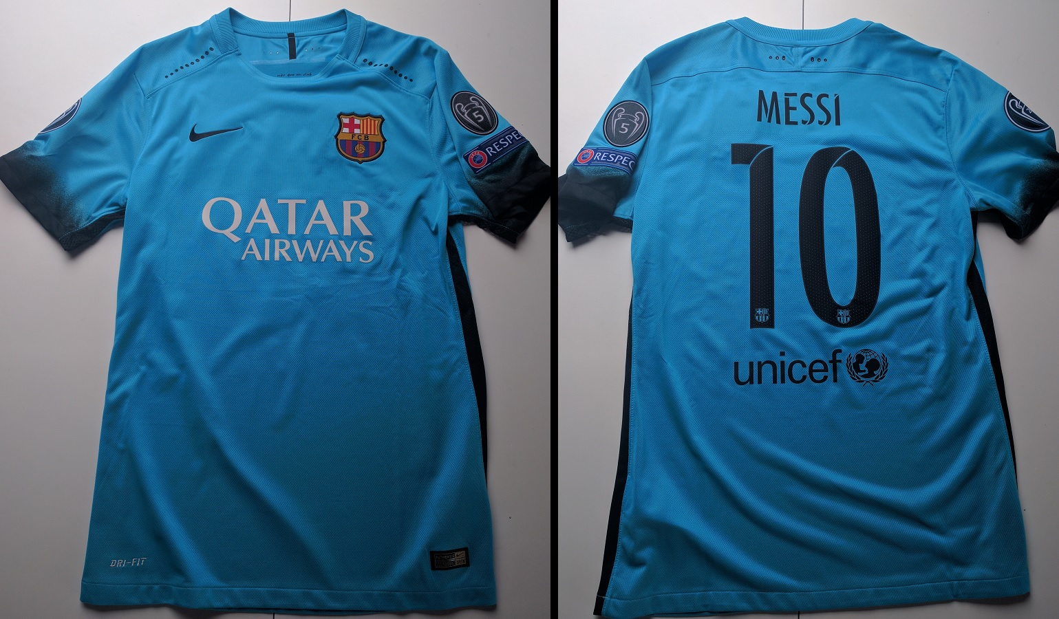 FC Barcelona Third 2015/16 Messi