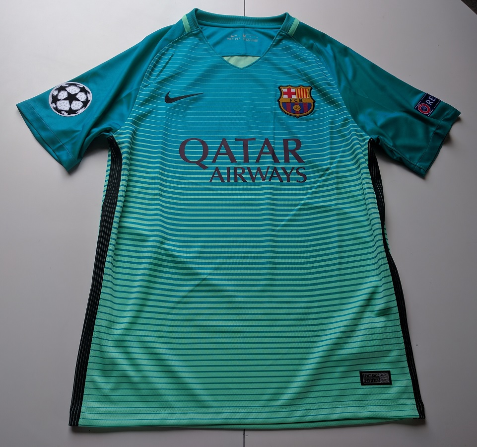 FC Barcelona Third 2016/17