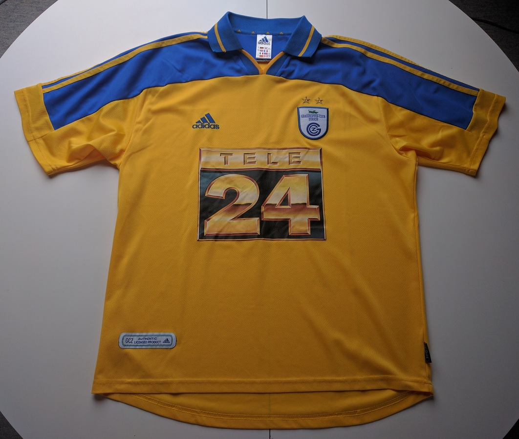 Grasshopper Club Zürich Away 2000/01