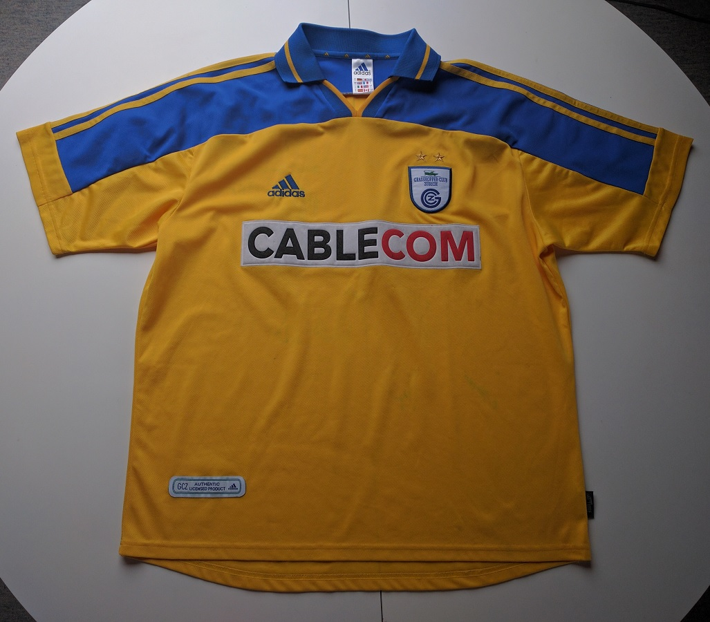 Grasshopper Club Zürich Away 2001/02
