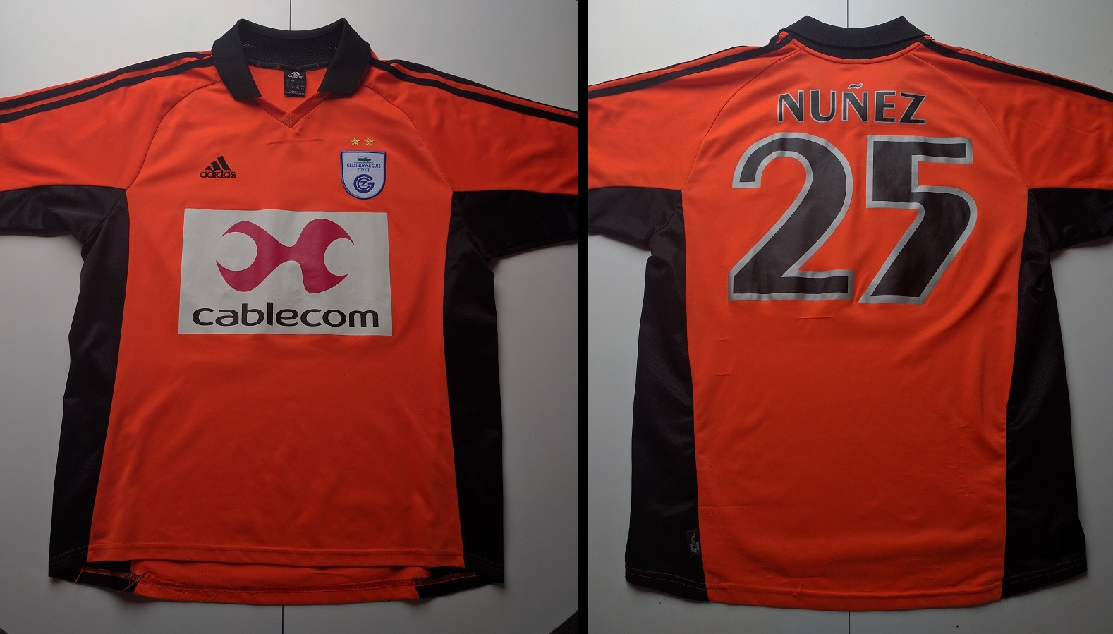 Grasshopper Club Zürich Away 2002/03 Nunez