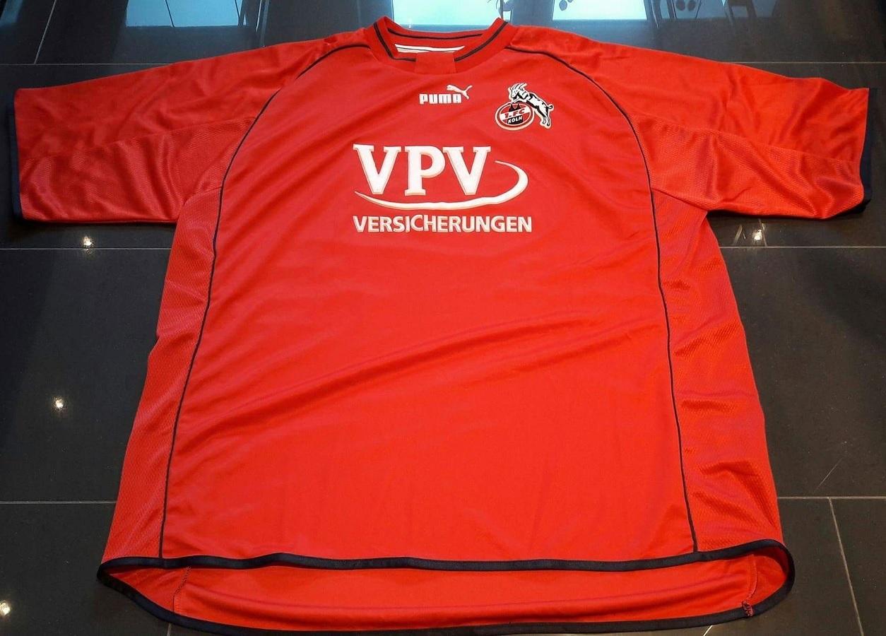 1.FC Köln Home 2001/02