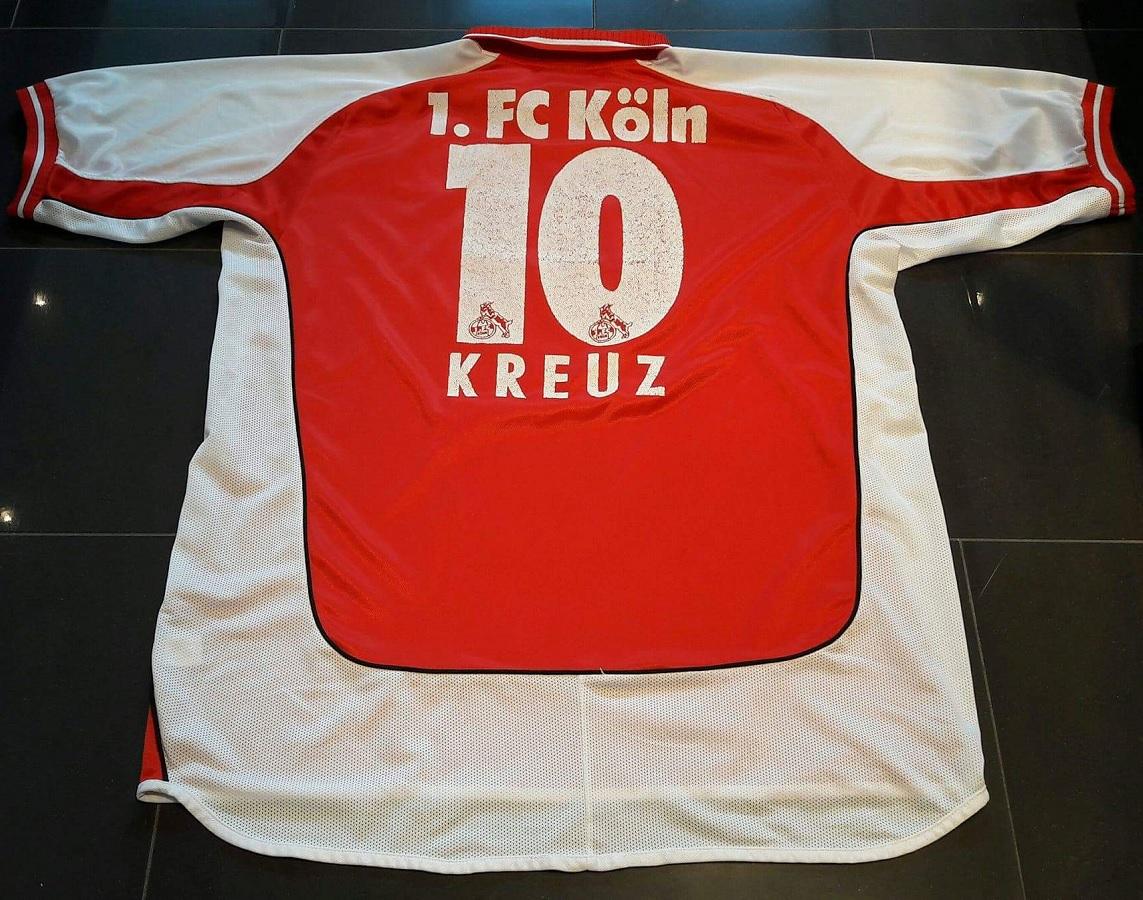 1.FC Köln Home 2002/03 Kreuz