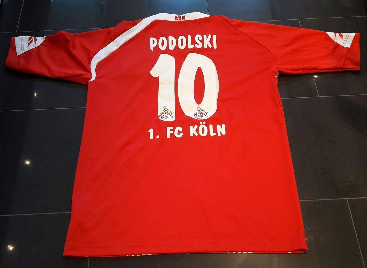 1.FC Köln Home 2009/10 Podolski