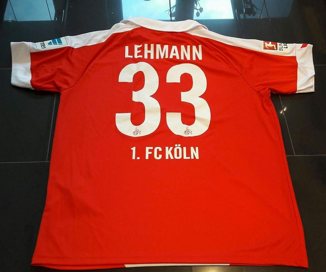 1.FC Köln Karneval 2015/16 Lehmann