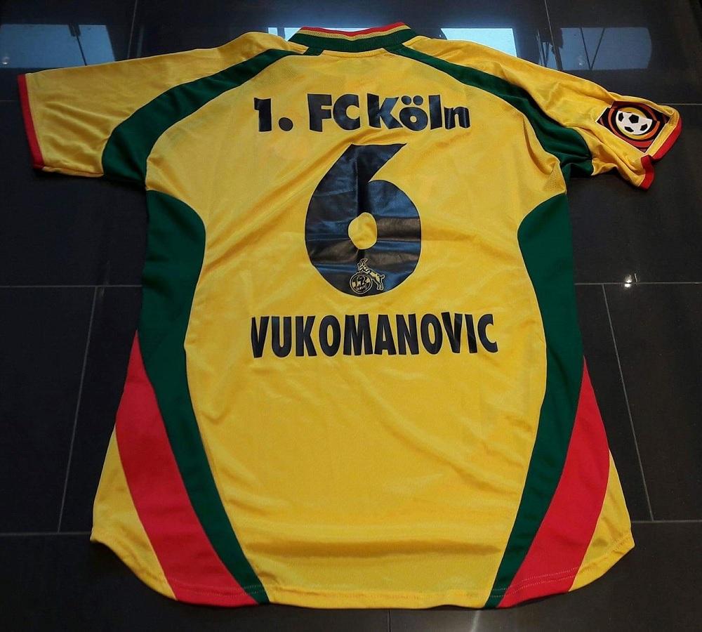 1.FC Köln Third 2000/01 Vukomanovic