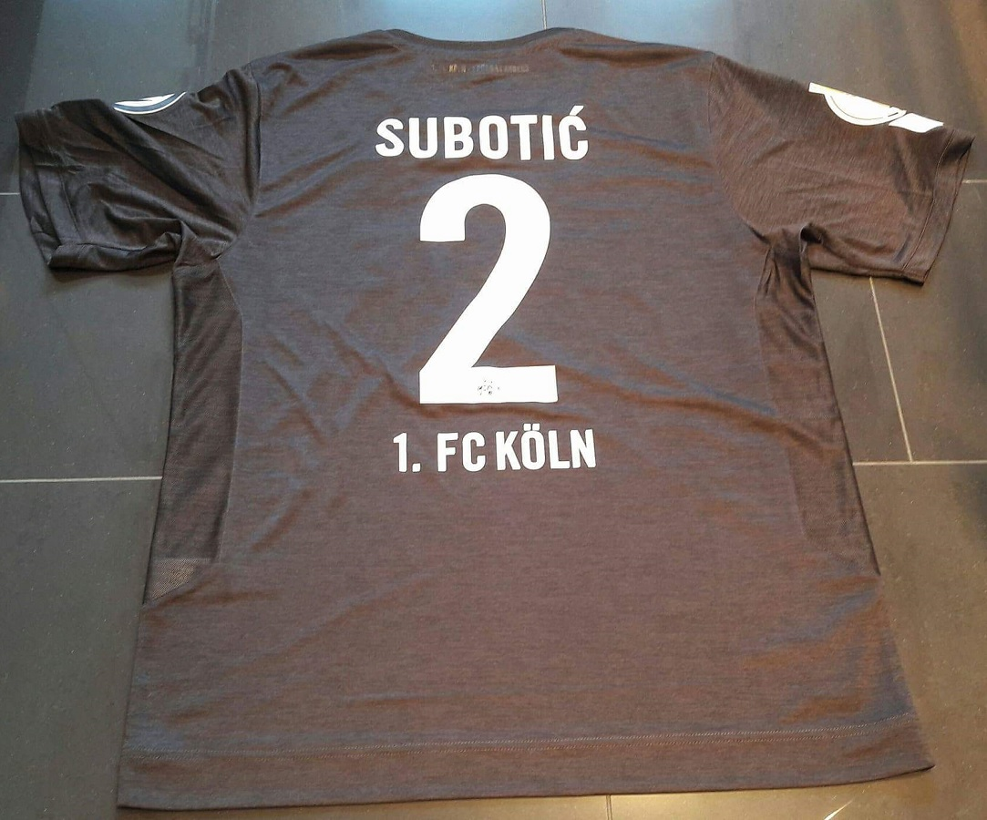 1.FC Köln Third 2016/17 Subotic