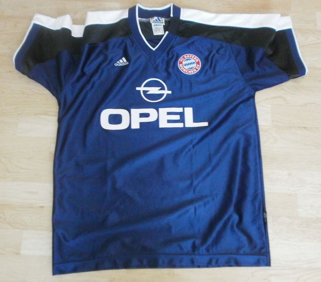 FC Bayern München Basketball Aufwärmtrikot 2000/01 Matchworn