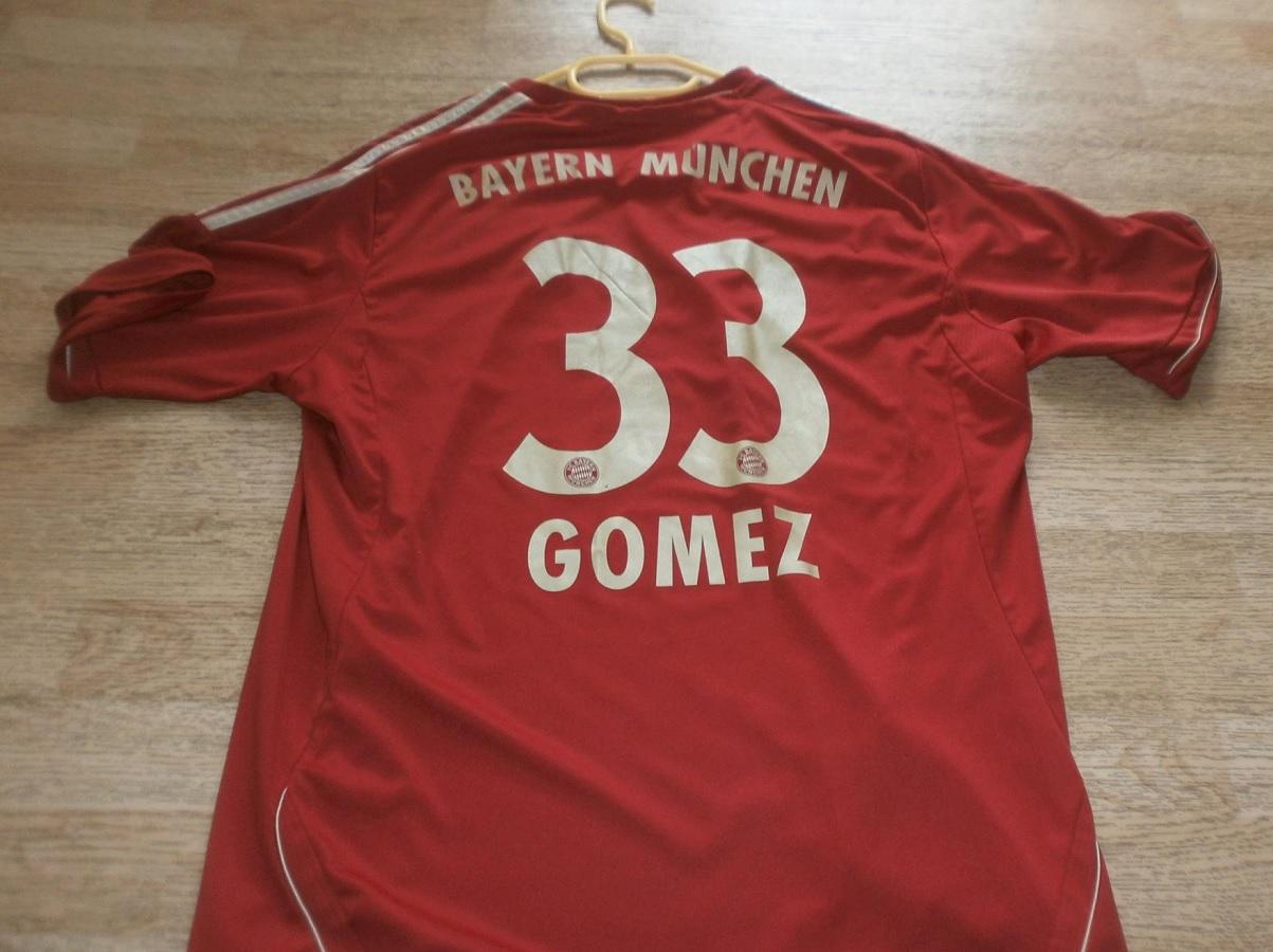 FC Bayern München Home 2011/12 Gomez