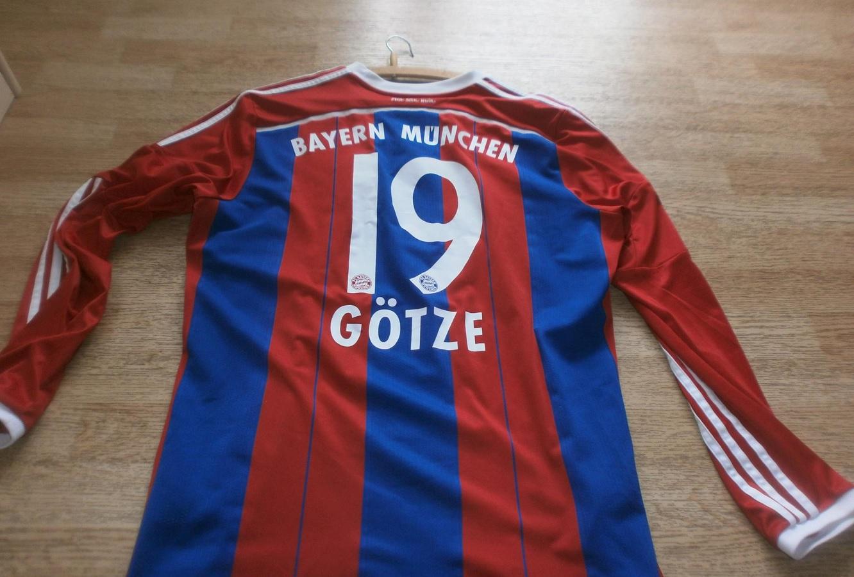 FC Bayern München Home 2014/15 Götze