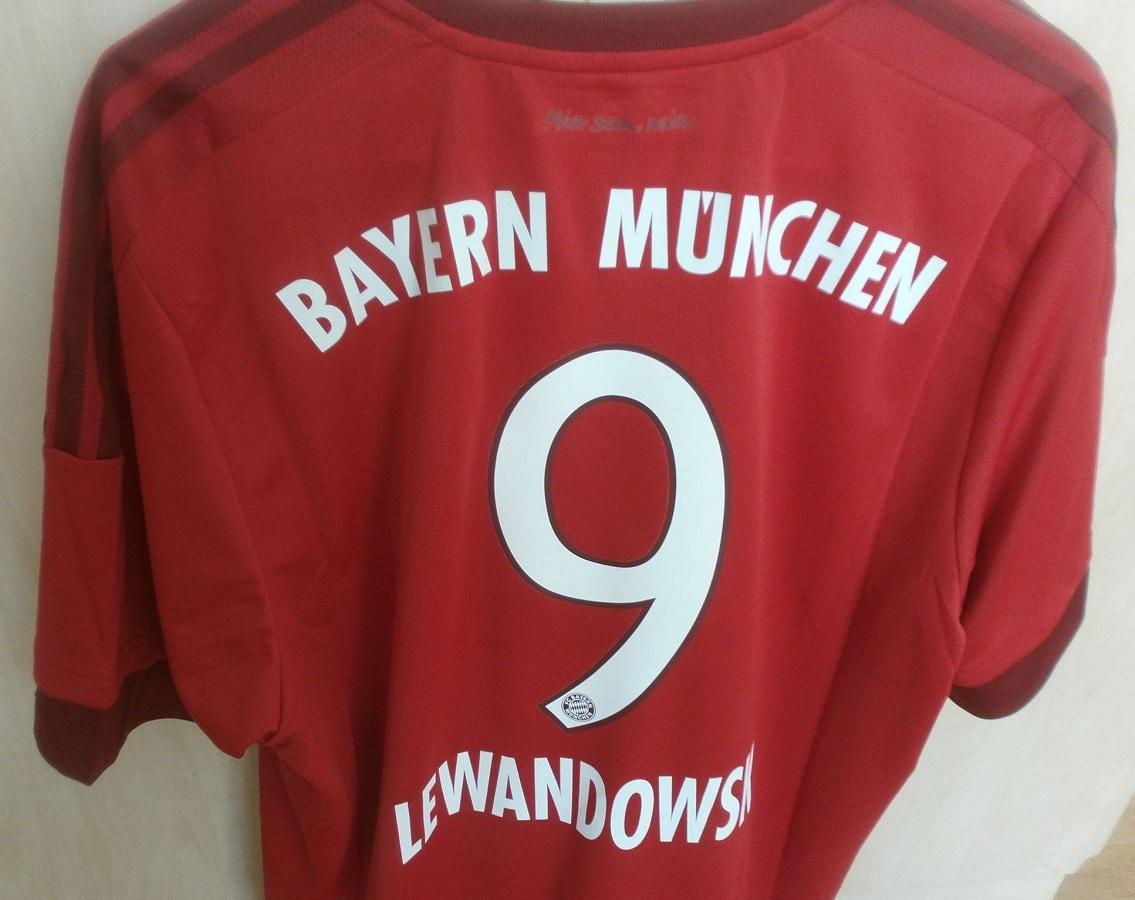 FC Bayern München Home 2015/16 Lewandowski