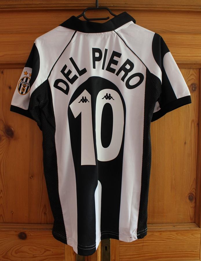 Juventus Turin Home 1997/98 Del Piero