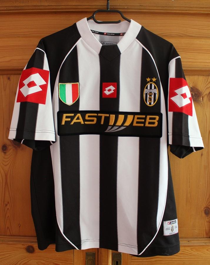 Juventus Turin Home 2002/03