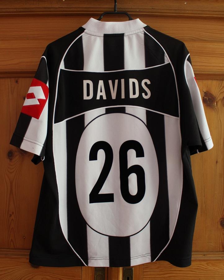 Juventus Turin Home 2002/03 Davids