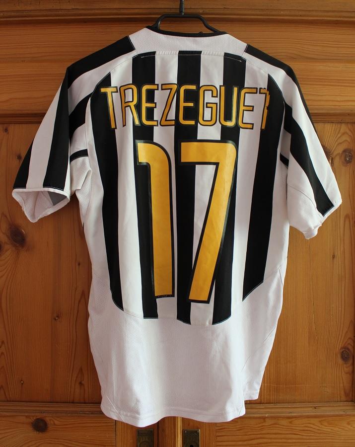Juventus Turin Home 2003/04 Trezeguet
