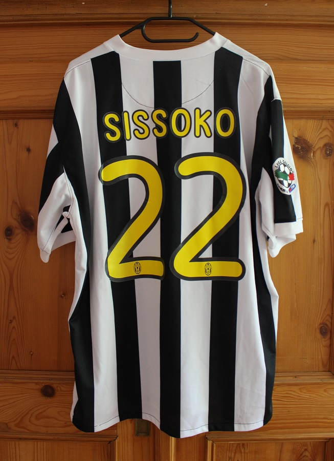Juventus Turin Home 2009/10 Sissoko