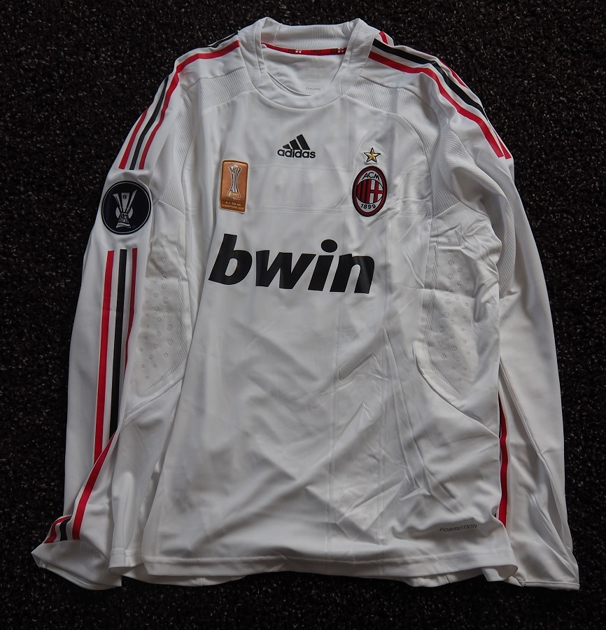 AC Milan Away 2008/09 Seedorf Matchworn