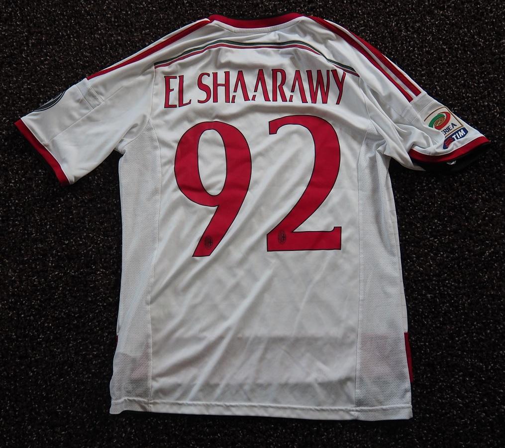 AC Milan Away 2014/15 El Shaarawy Fanshop