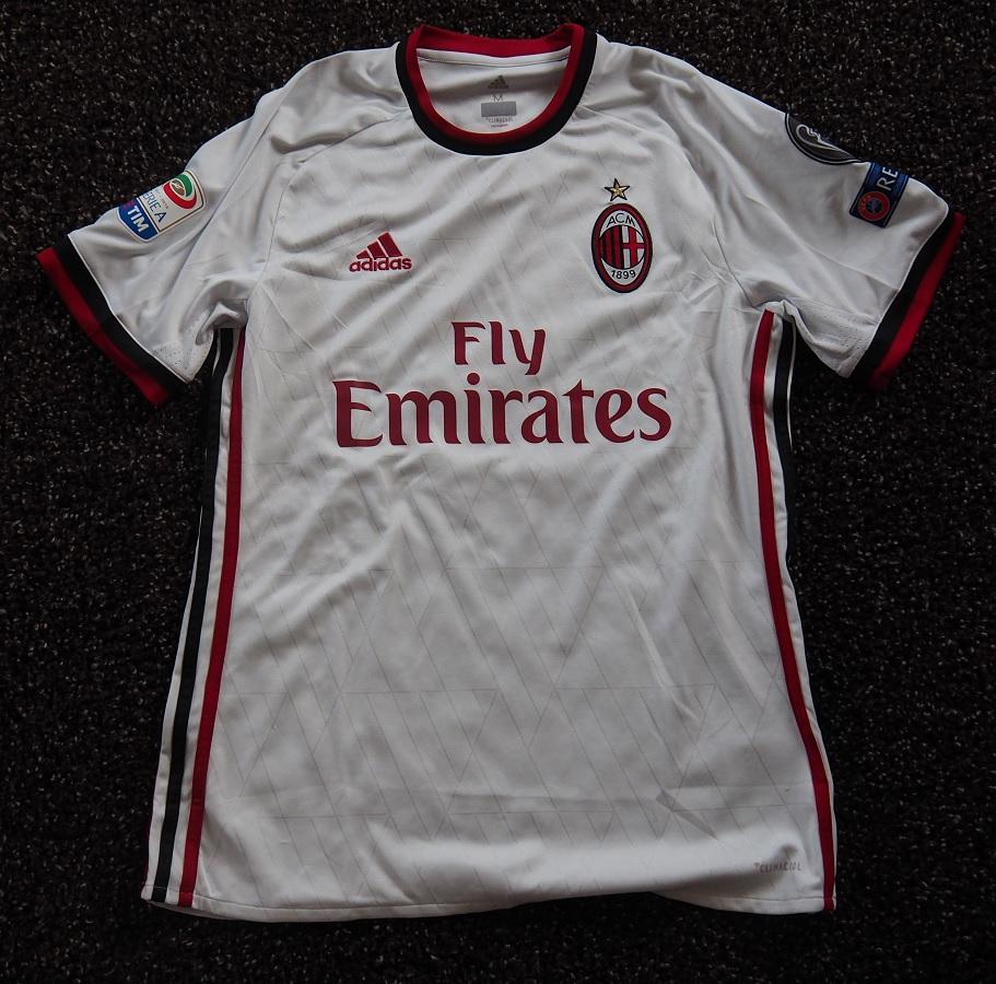 AC Milan Away 2017/18 Suso Fanshop