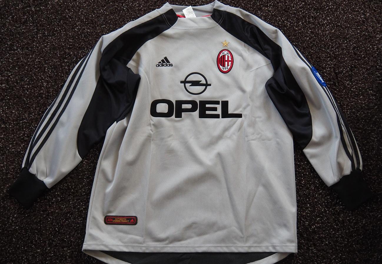 AC Milan Goalkeeper 2001/02 Abbiati Matchworn
