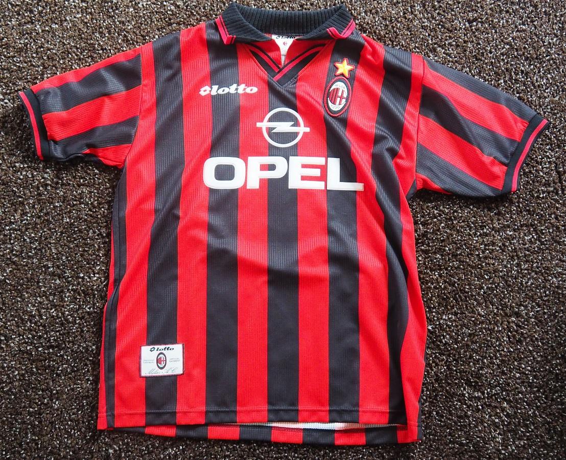 AC Milan Home 1997/98 Costacurta Fanshop