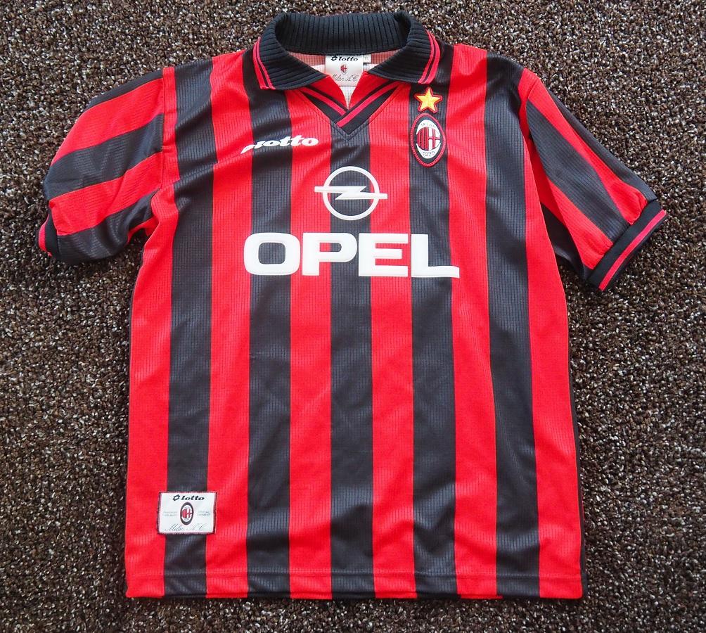 AC Milan Home 1997/98 Ganz Fanshop
