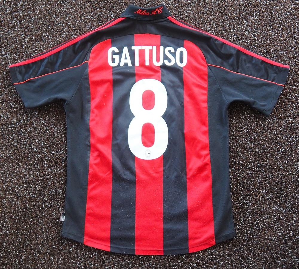 AC Milan Home 2001/02 Gattuso Fanshop