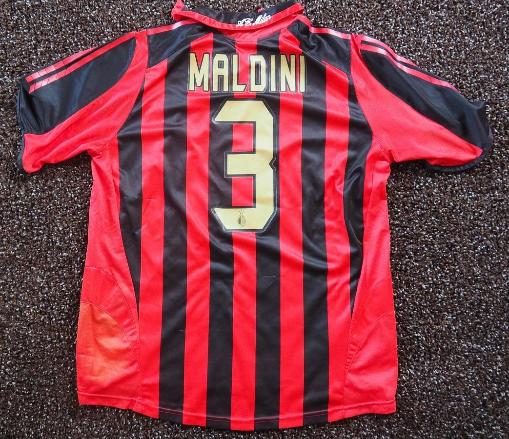 AC Milan Home 2005/06 Maldini Fanshop