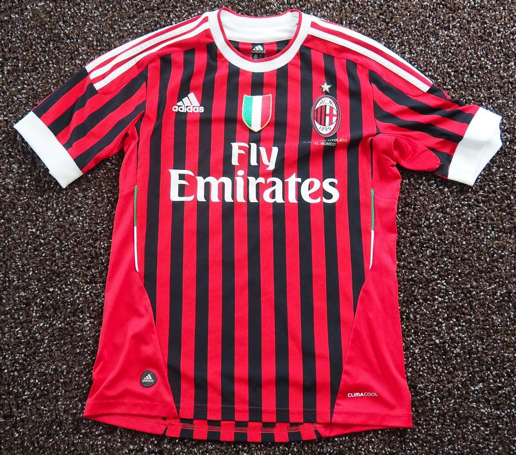 AC Milan Home 2011/12 Prince Fanshop