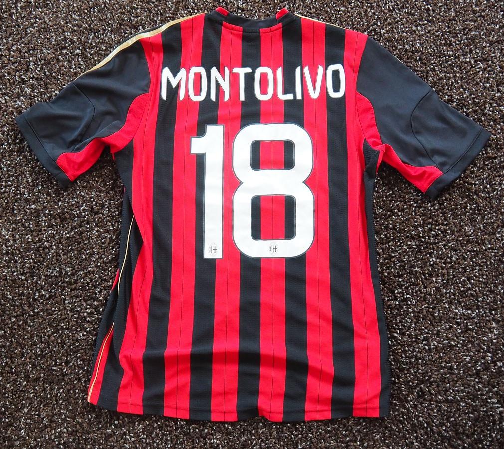 AC Milan Home 2013/14 Montolivo Fanshop