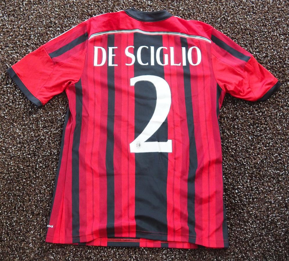 AC Milan Home 2014/15 De Sciglio Fanshop