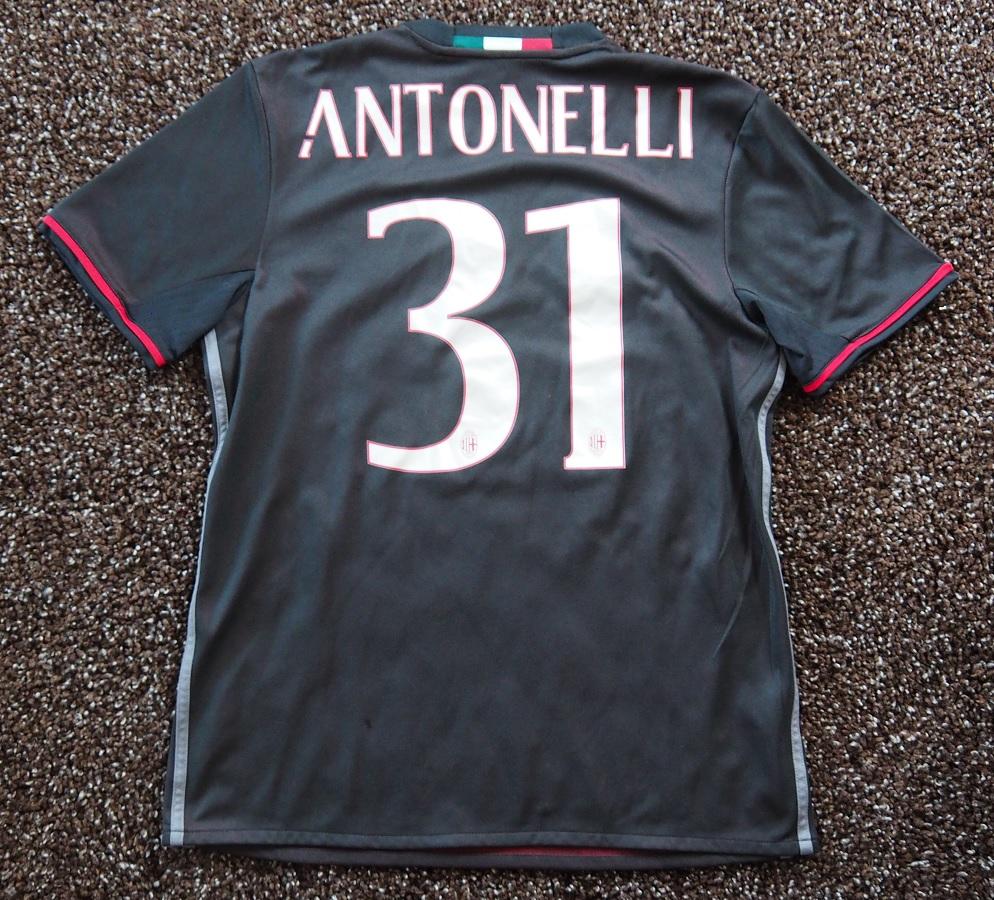 AC Milan Home 2016/17 Antonelli Fanshop