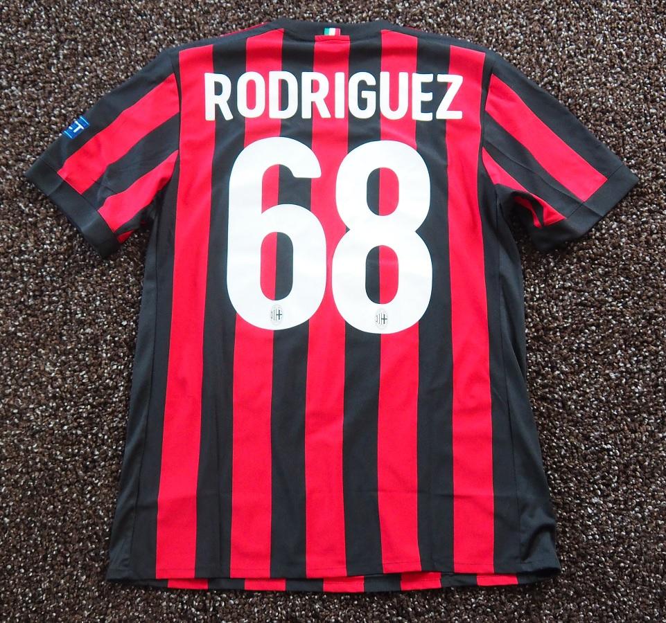 AC Milan Home 2017/18 Rodriguez Fanshop