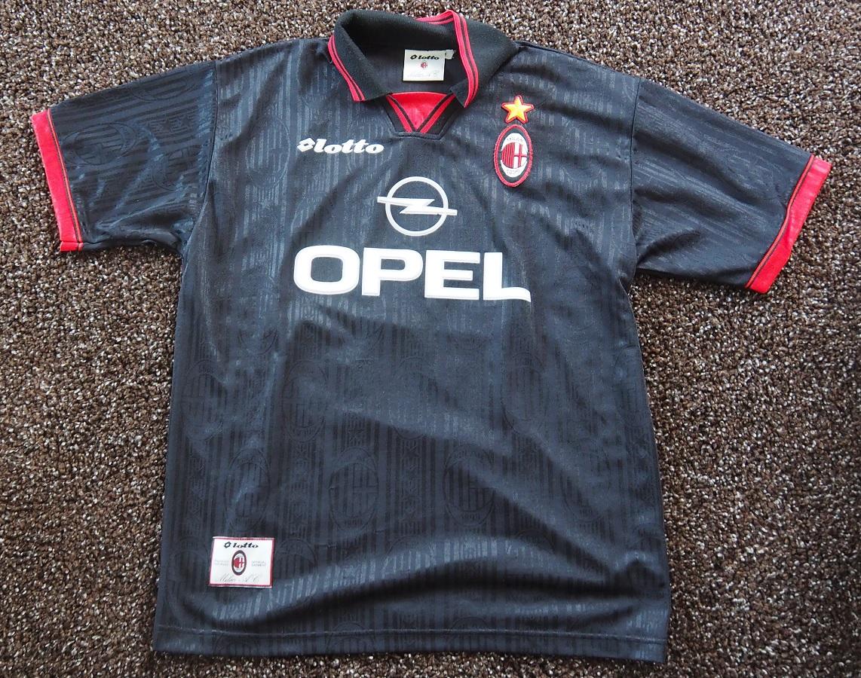 AC Milan Third 1997/98 Leonardo Fanshop