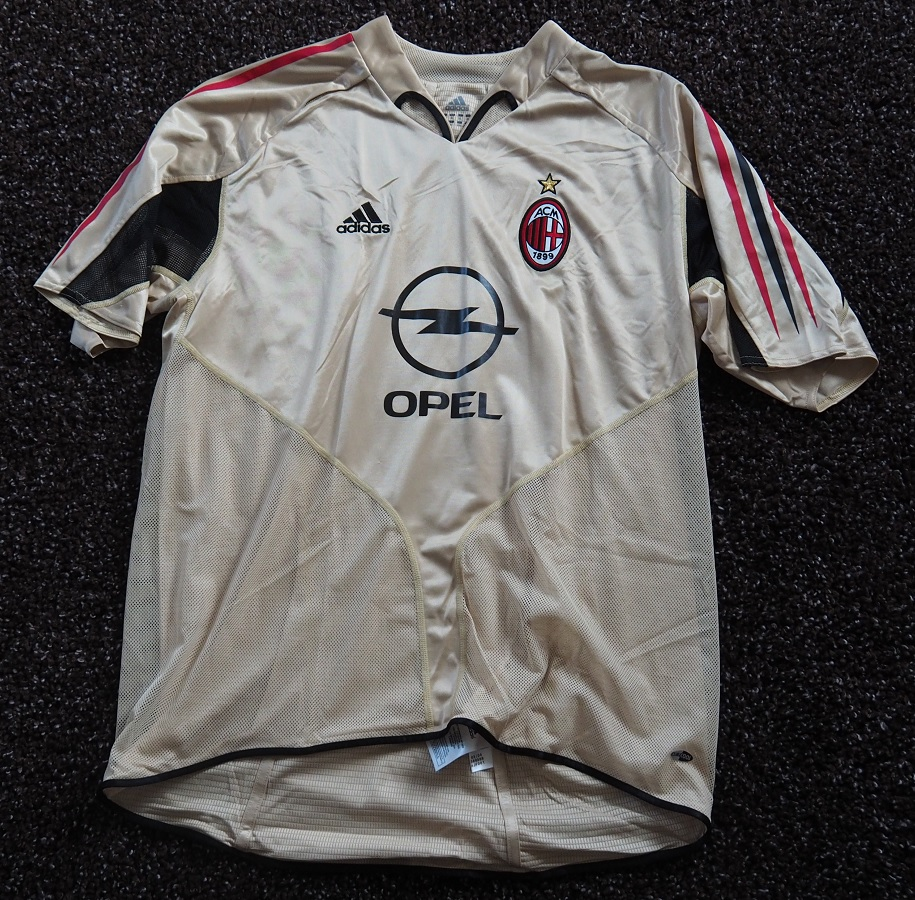 AC Milan Third 2004/05 Kaka Player Issue
